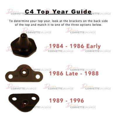 C4 Corvette Top Year Guide